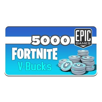 5000 vdolców Fortnite PC Windows