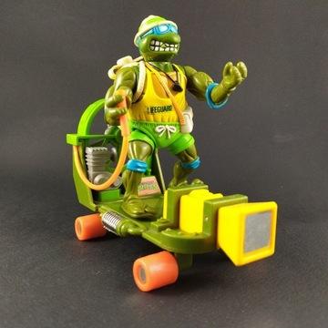 Figurka Ratownik Leo plus pojazd Żółwie Ninja