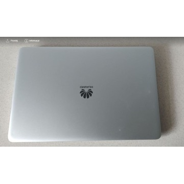 Huawei MateBook D 14' Ryzen 5/8GB/256/Win10 FHD