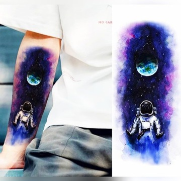 Fałszywy tatuaż KOSMOS