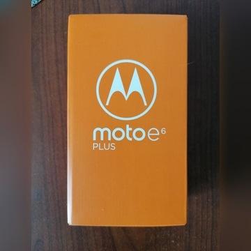 Smartfon MOTOROLA Moto E6 Plus 4/64GB Graphite