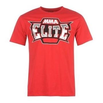 T-shirt koszulka MMA Elite czerwona XL