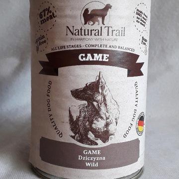 Natural Trail Game Dziczyzna 6x 400g pies
