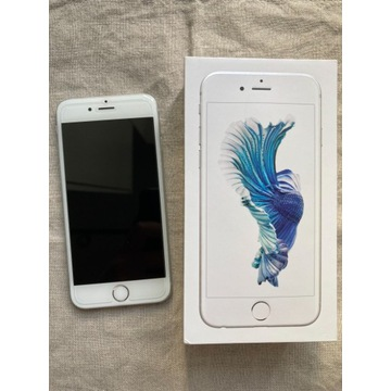 iPhone 6s silver white