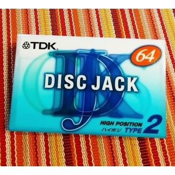 TDK DISC JACK DJ2 64 min. Japońskie wydanie. 1szt.