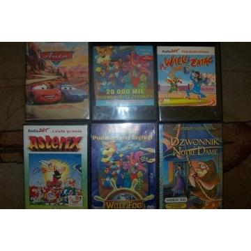 Zestaw bajek dla dzieci - 9 sztuk VCD/DVD