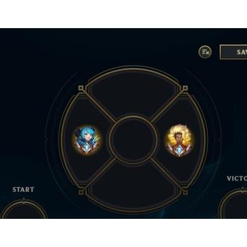 Konto Master League of Legends LoL chall emotes