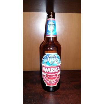 Kolekcjonerska butelka Warka Lech Poznań