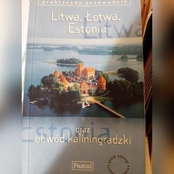 Książka Przewodnik Litwa, Łotwa, Estonia