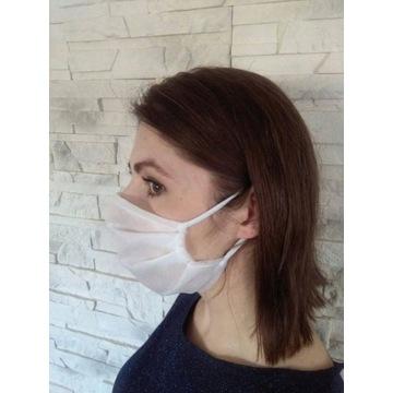 Maseczka maska ochronna wielorazowa na twarz