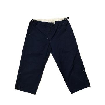 Spodnie damskie Nike capri 3/4 granatowe M