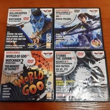 Zestaw 11 gier - Watchman 1,2, world of goo i inne