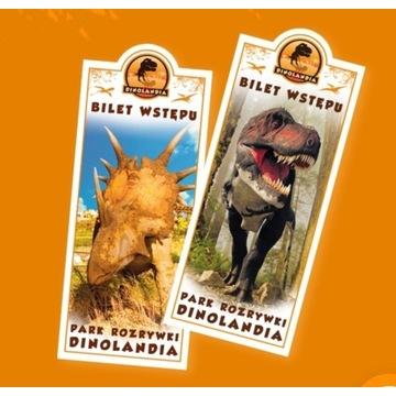 4 bilety do Dinolandii w Inwałdzie: OKAZJA!!!