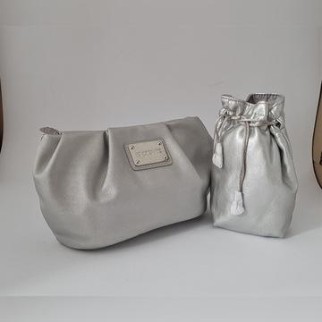 Kosmetyczka La Prairie srebrna woreczek kosmetyki