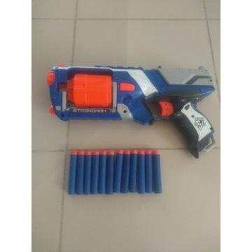 Pistolet karabin NERF ELITE STRONGARM 12 pocisków