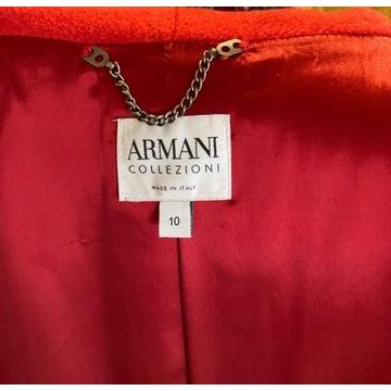 Elegancki płaszcz firmy Armani