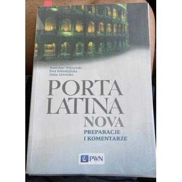 PORTA LATINA NOVA ŁACINA preparacje komentarze PWN