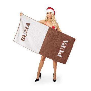 Ręcznik Buzia-Pupa 70x140cm prezent święta