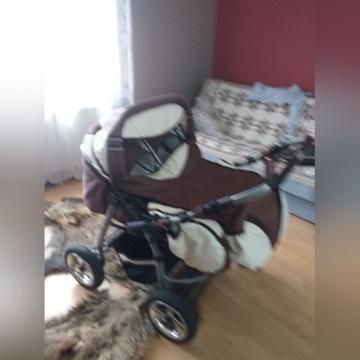 Wózek bliźniaczy i nosidełka