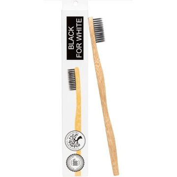 Black for White Bambusowa szczoteczka do zębów