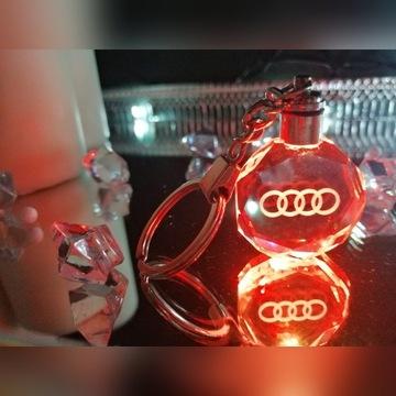 Breloczek AUDI Brelok LED