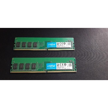 Pamiec RAM DDR4 Crucial 2x8GB 2133MHz CL15