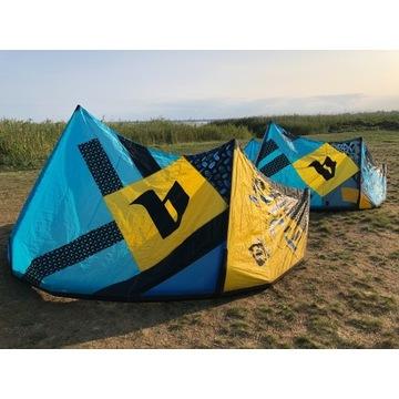 Kite 9 m2 i 12 m2 Blade Trigger + 2 Bary.