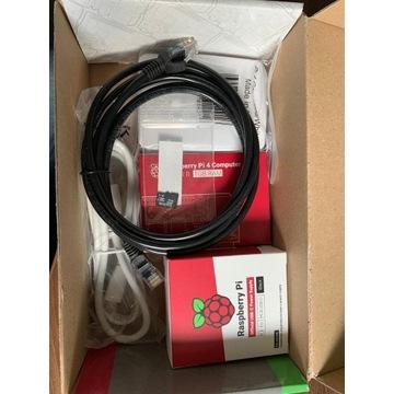 Zestaw Raspberry Pi 4B WiFi 1GB, oficjalne akces.