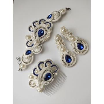 Komplet biżuterii soutache