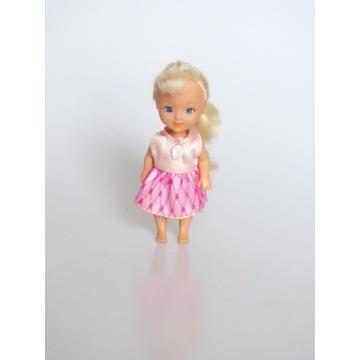 Lalka mini laleczka w ubranku księżniczka zabawa