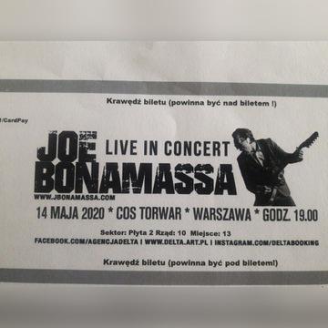 Bilet na koncert Joe Bonamassa 14.05.2020 Warszawa