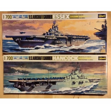 Okręty 1/700 Dwa lotniskowce USS