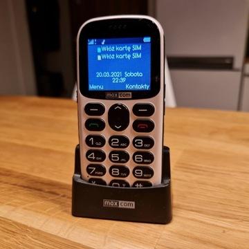 Maxcom MM471 Dual SIM Idealny Gwarancja Zestaw