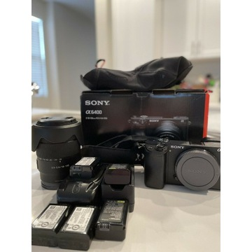 Kamera bezlusterkowa Sony Alpha A6400