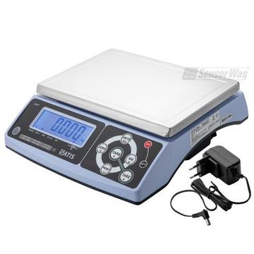 Waga cas elektroniczna sklepowa 30kg akumulator
