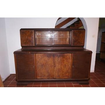 Kredens Art Deco drewniany XX w.