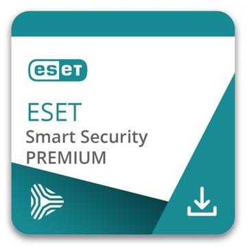 Eset Smart Security Premium 2LATA 3PC NOWY KLUCZ