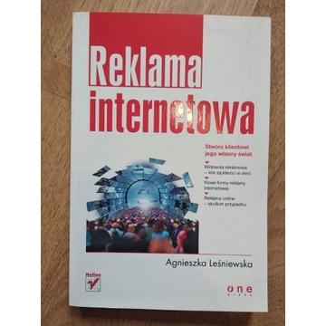 Reklama internetowa - Leśniewska - książka