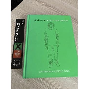 "Książka Ed Sheeran ""Graficzna podróż"""