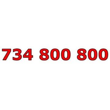 734 800 800 T-MOBILE ŁATWY ZŁOTY NUMER STARTER