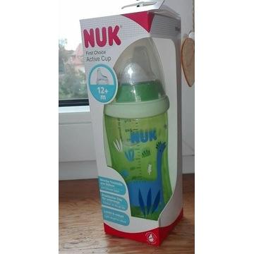 Nowa butelka niekapek NUK +12m