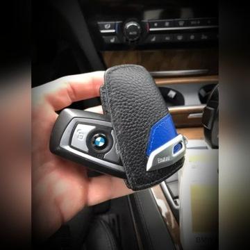 Skórzane Etui Do Klucza BMW Pokrowiec