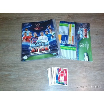 Karty piłkarskie 51+album+lista kontrolna