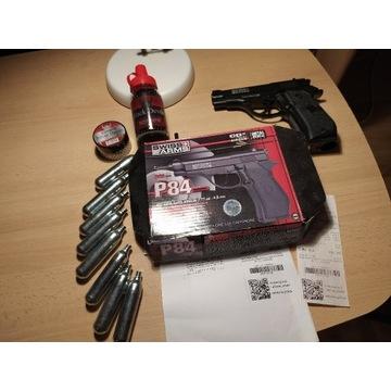 Pistolet Gazowy SWISS ARMS P84 + akcesoria