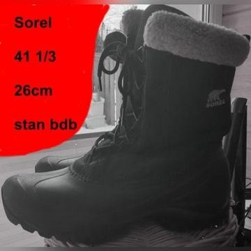 Sorel buty damskie rozmiar 41 1/3 26cm używane