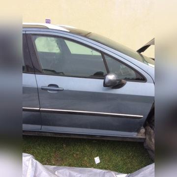 Peugeot 407 SW drzwi przód przednie prawe EZWD