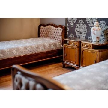 Łóżka sypialniane, szafki nocne Biedermeier