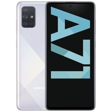 Samsung Galaxy A71 Crush Silver 128GB GW NOWY