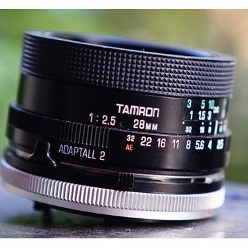 Tamron BBAR MC 02B 28mm 1:2.5 jasny, szeroki kąt