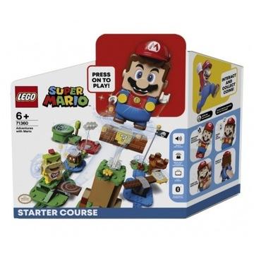 NOWE LEGO Super Mario 71360 Przygody z Mario